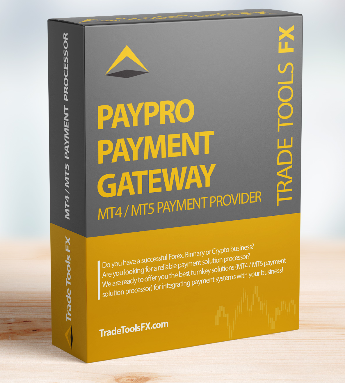 Payment gateway for brokers mt4 / mt5 (Payment Service Provider)